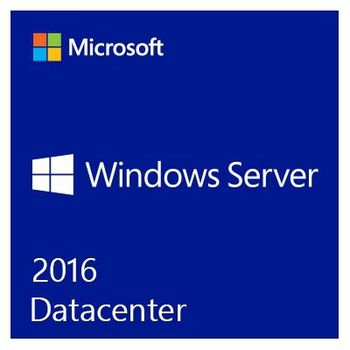 MS Windows Server DataCenter 2016 64Bit DVD 16 Core - DE